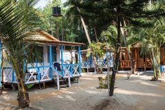 10. Cafe Blue Resort_AC Non Seaview Beach Huts Cafe Blue Resort, Palolem Beach, Goa.