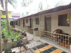 Seagull AC Rooms Palolem Beach Goa.