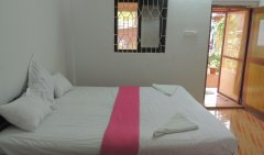 Seagull AC Room Bedroom Palolem Beach Goa.