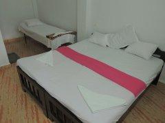 Seagull Non-AC Room Bedroom Palolem Beach Goa.