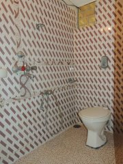 Seagull Non-AC Room Bathroom Palolem Beach Goa.