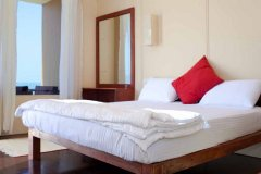 Diva Bungalows AC Sea View Bungalow Bedroom Agonda Beach Goa.