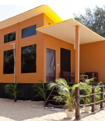 Diva Bungalows AC Beach Front Bungalow Agonda Beach Goa.