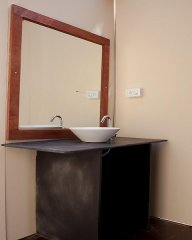 Diva Bungalows  AC Beachfront Bungalow Washroom Agonda Beach Goa.