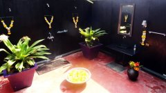 H2O Agonda Garden Cottages Bathroom Agonda Beach Goa. -