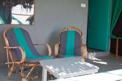 Saffron Sands Agonda Sea View Hut BalconyAgonda Beach Goa. -