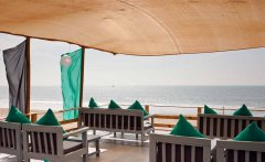 Saffron Sands Agonda Roof Top  Agonda Beach Goa.