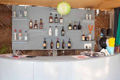 Saffron Sands Agonda Bar Counter Agonda Beach Goa.