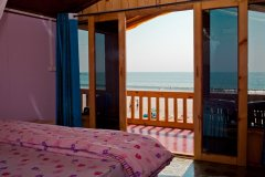Castle Cave Bedroom Palolem Beach Goa. -
