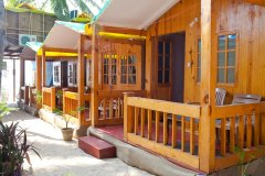 Castle Cave Palolem AC Sea View Huts Palolem Beach Goa. -
