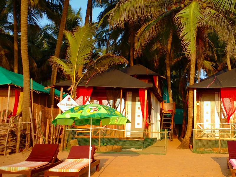 Mesa Beach Cottages A Beach Resort in Agonda Beach South Goa