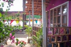 Om Sai Nirvana Resort Patnem Beach South Goa.