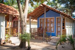 Om Sai Nirvana Resort Standard Huts Patnem Beach South Goa.
