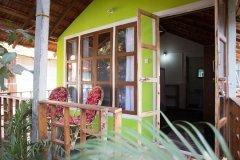Om Sai Nirvana Resort Standard Huts Patnem Beach South Goa.