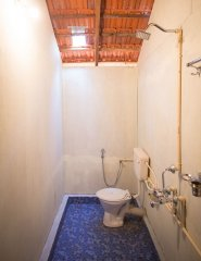 Om Sai Nirvana Resort Standard Huts Bathroom Patnem Beach South Goa.