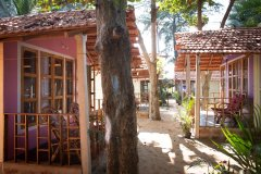 Om Sai Nirvana Resort View Patnem Beach South Goa.
