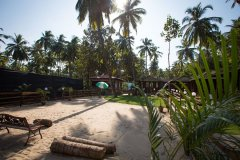 Club Palolem Resort Palolem Beach Goa. -