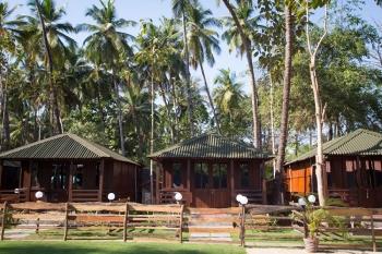 Club Palolem Resort AC Luxury Bungalows Palolem Beach Goa. -