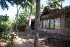 On The Rocks Resort Family Hut Palolem Beach Goa.
