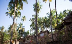 On The Rocks Resort Palolem Beach Goa. -