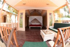 13. Green Park Palolem Beach_Super Deluxe Beach Huts_bedroom view -