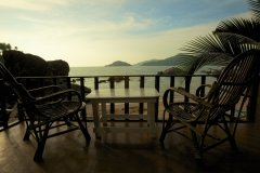 Green Park Resort Palolem Beach Luxury Beachfront Huts Balcony View -