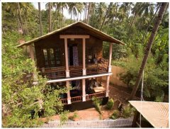 La La Land Family Cottage 1 Patnem Colomb Beach.