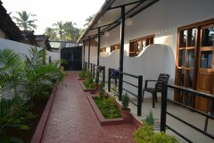 Palolem Residency View of AC Luxury Room Gallery Palolem Beach Goa