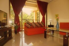 Palolem Garden Estate 2 BHK Living Room Palolem Beach Goa