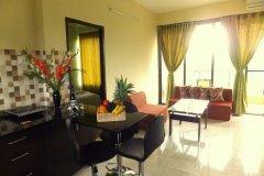 Palolem Garden Estate 2BHK Living Room and Kitchen Palolem Beach Goa