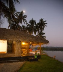 RIVER Resort Goa - Luxury AC Riverfront Cottage-7 - RIVER Resort Goa, Rajbag-Patnem Beaches - Luxury AC Riverfront Cottage