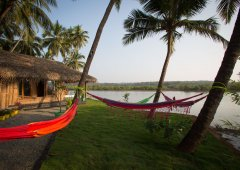 RIVER Resort Goa - Luxury AC Riverfront Cottage-6 - RIVER Resort Goa, Rajbag-Patnem Beaches - Luxury AC Riverfront Cottage