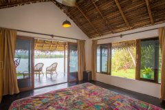 RIVER Resort Goa - Luxury AC Riverfront Cottage-2 - RIVER Resort Goa, Rajbag-Patnem Beaches - Luxury AC Riverfront Cottage