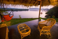 RIVER Resort Goa - Luxury AC Riverfront Cottage-1 - RIVER Resort Goa, Rajbag-Patnem Beaches - Luxury AC Riverfront Cottage
