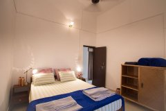 Monkey Rooms Jungle View Room 4  Bedroom Agonda beach Goa.