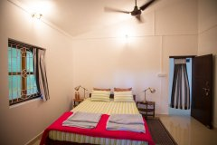 Monkey Rooms Jungle View Room 5  Interior Agonda beach Goa.
