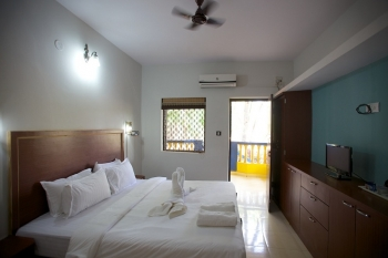 Agonda Palace Resort  -  View of Luxury AC Room of Agonda Palace on Agonda Beach,Goa -