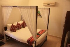 The Village Resort Palolem AC Standard Double Room bedroom