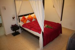 The Village Resort Palolem AC Deluxe Double Room Interior -