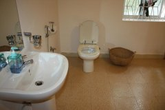 The Village Resort Palolem AC Deluxe Double Room Bathroom -