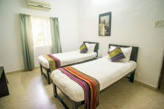 The Village Resort Palolem AC Standard Double Twin Room