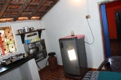 Cockerel Village House Self Serviced Kitchen Colomb Beach Soutn Goa. -
