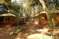 Big Chill Restaurant and Accommodation Resort View Colomb Beach South Goa.