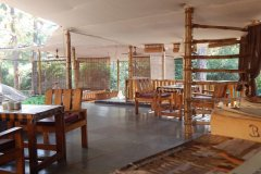 Big Chill Restaurant and Accommodation Sitting Area Colomb Beach South Goa.