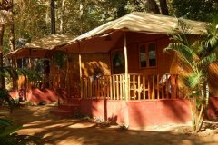 Big Chill Restaurant and Accommodation Standard Huts Colomb Beach South Goa.