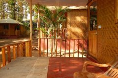 Big Chill Restaurant and Accommodation Standard Huts Gallery Colomb Beach South Goa.