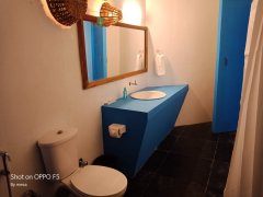 Ekaloka Beach Cottages  Sea View King Size Room Bathroom  Agonda Beach  South Goa