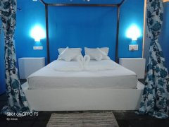 Ekaloka Beach Cottages Bedroom View of Sea View King Size Room  Agonda Beach  South Goa