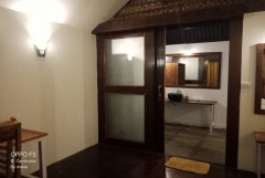 Royal Agonda Beach Cottages AC Sea View Premium Cottages Bathroom View Agonda Beach South Goa