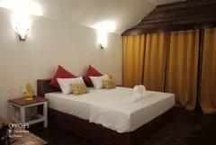 Royal Agonda Beach Cottages AC Sea View Premium Cottages Bedroom View Agonda Beach South Goa